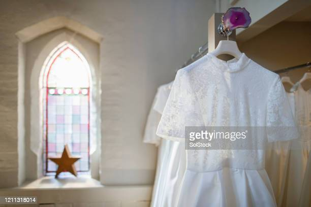 bridal store - fashion collection stock pictures, royalty-free photos & images