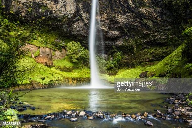 Bridal Veil Falls (Waireinga) near Raglan, Waikato, North Island, New Zealand, Pacific