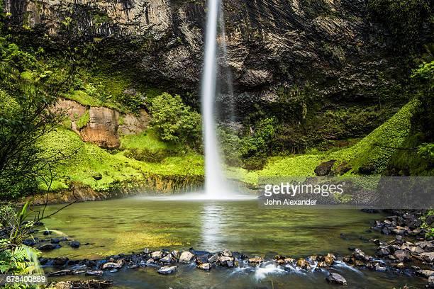 Bridal Veil Falls (Waireinga) near Raglan, Waikato, North Island, New Zealand, Pacific