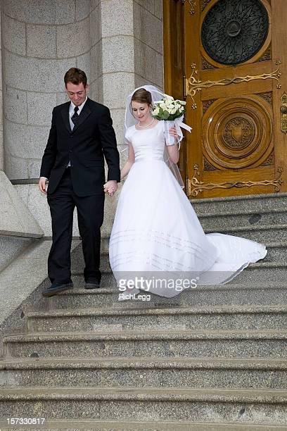 Sposa e lo sposo in ingresso