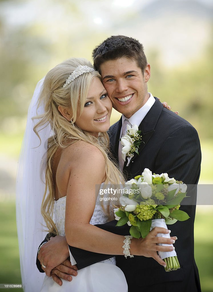 Bride and Groom : Stock Photo