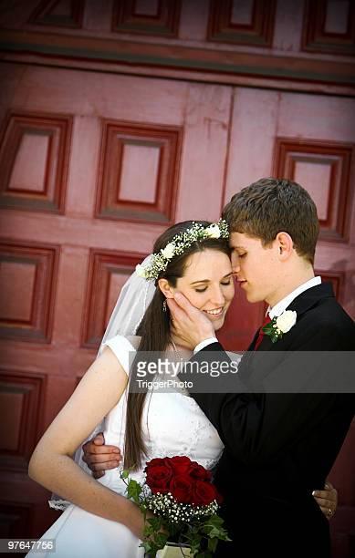 Braut und Bräutigam-portraits