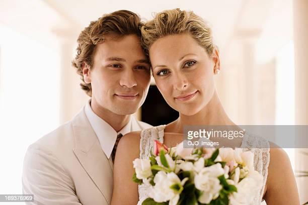 Profumato bouquet sposa e lo sposo