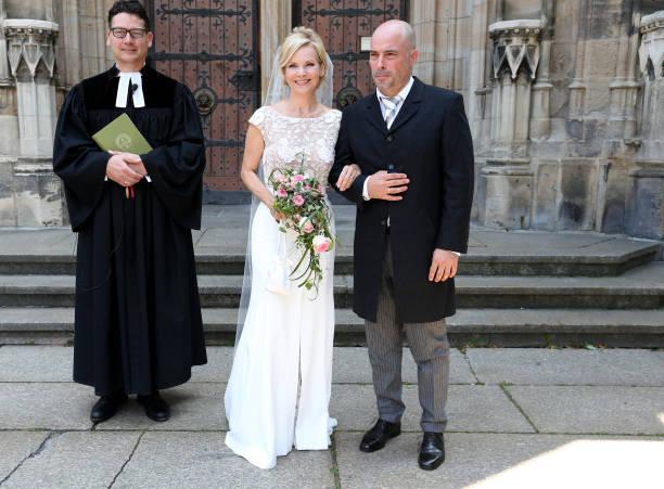 DEU: Wedding Of Andrea Kathrin Loewig And Andreas Thiele In Leipzig