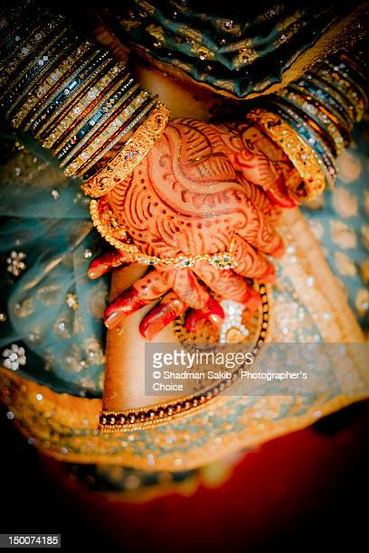 Bride awaits