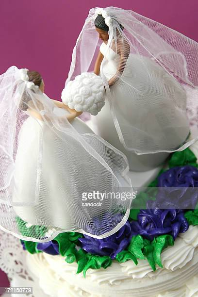 Bride cake.