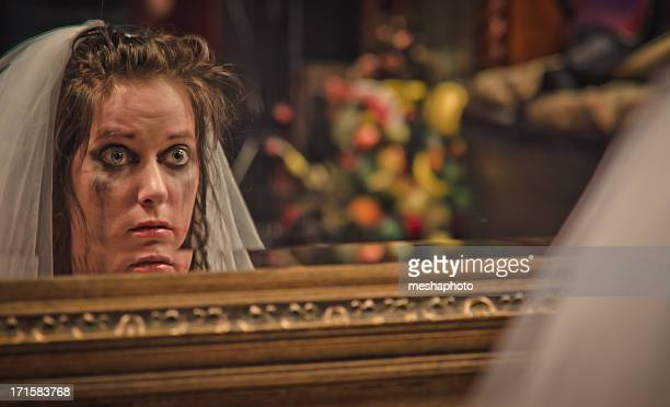 Bride Crying For Her Wedding