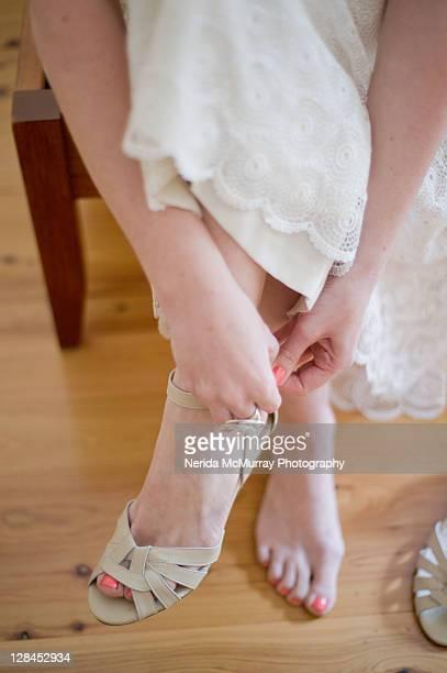 Bride detail - shoes & feet