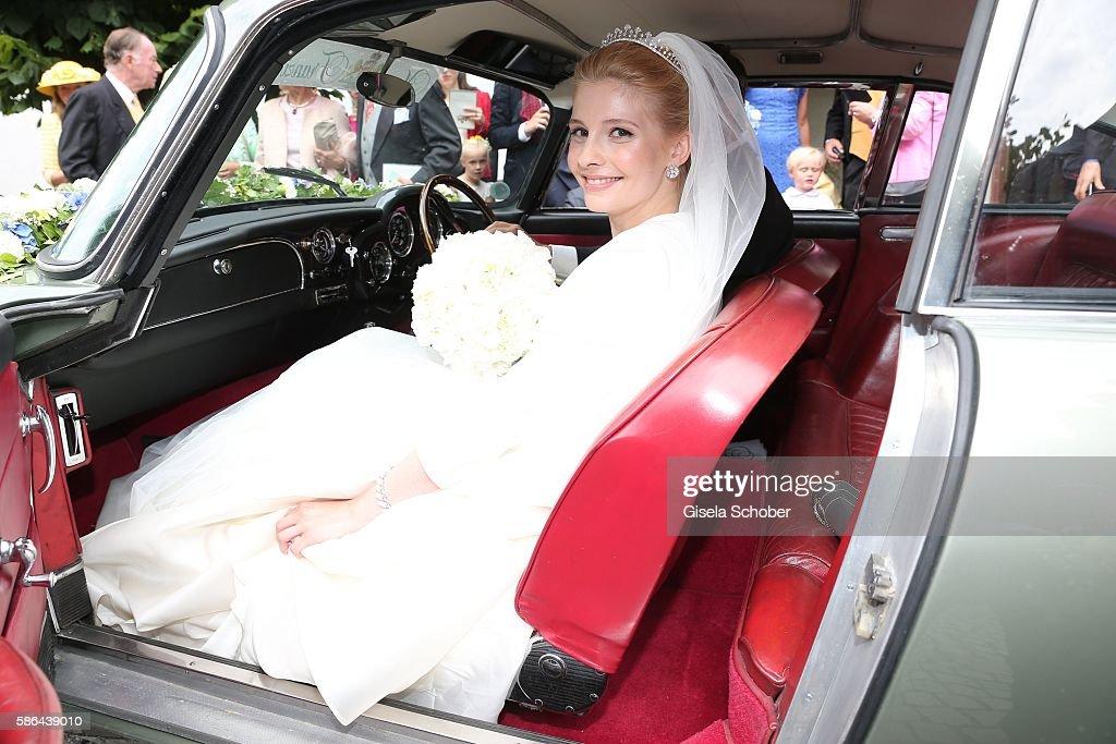 Wedding Of Prince Maximilian zu Sayn-Wittgenstein-Berleburg And Franziska Balzer : News Photo