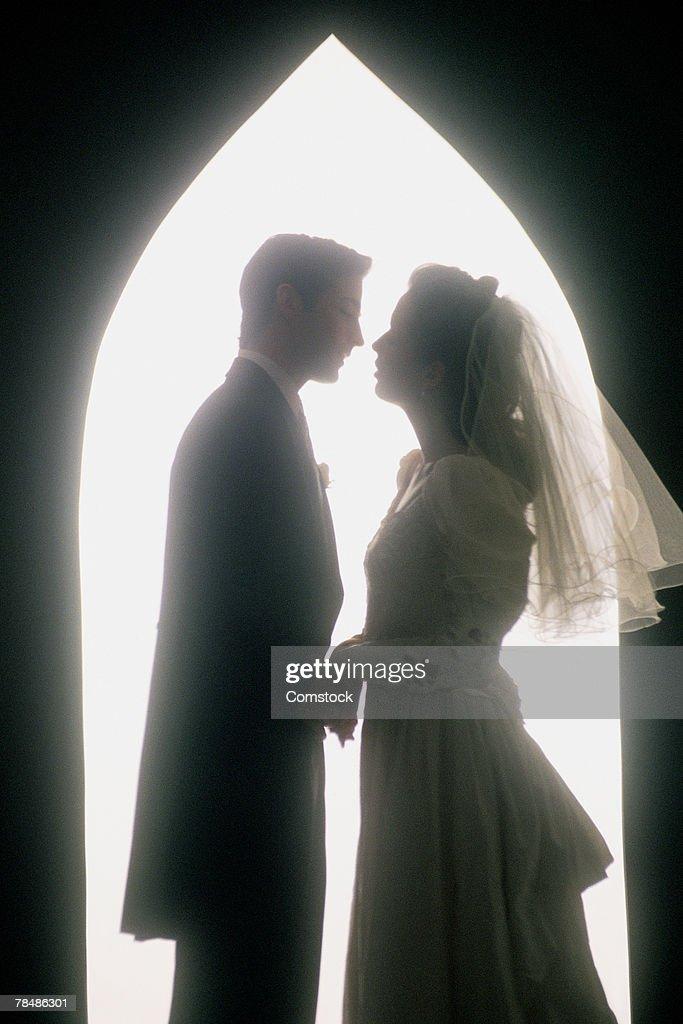 Bride & groom : Stock Photo
