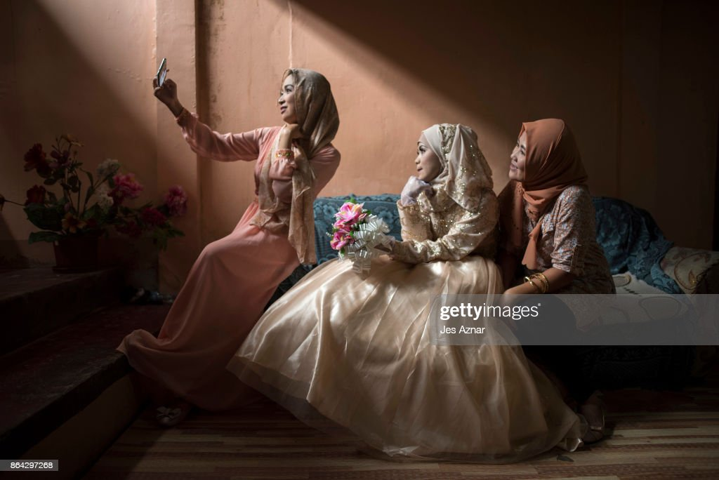 A Wedding In Marawi After The Siege : News Photo