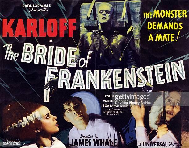 'Bride of Frankenstein' a 1935 American horror film the first sequel to Frankenstein