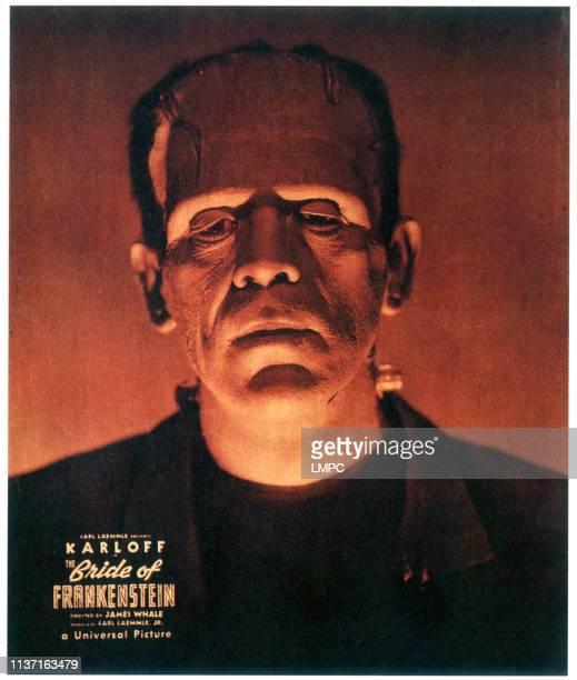 Bride Of Frankenstein, poster, Boris Karloff, 1935.