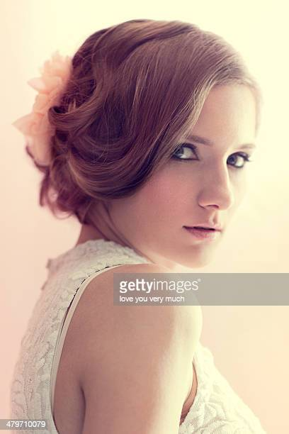 bride - sleeveless stock photos and pictures
