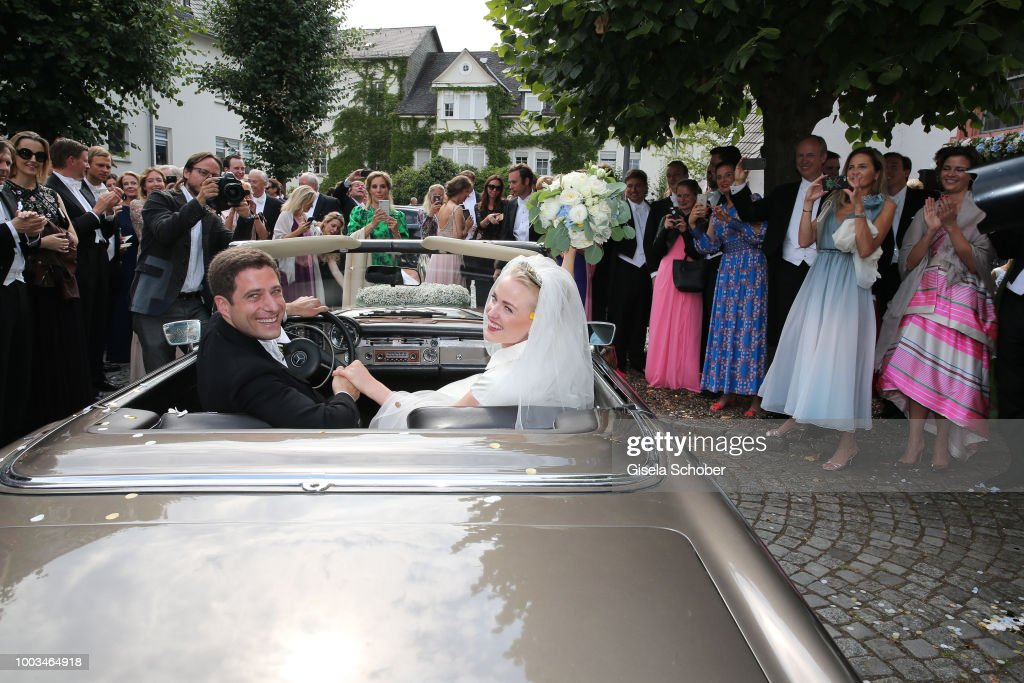 Wedding Of Princess Theodora Sayn-Wittgenstein and Earl Nikolaus Bethlen de Bethlen In Bad Laasphe