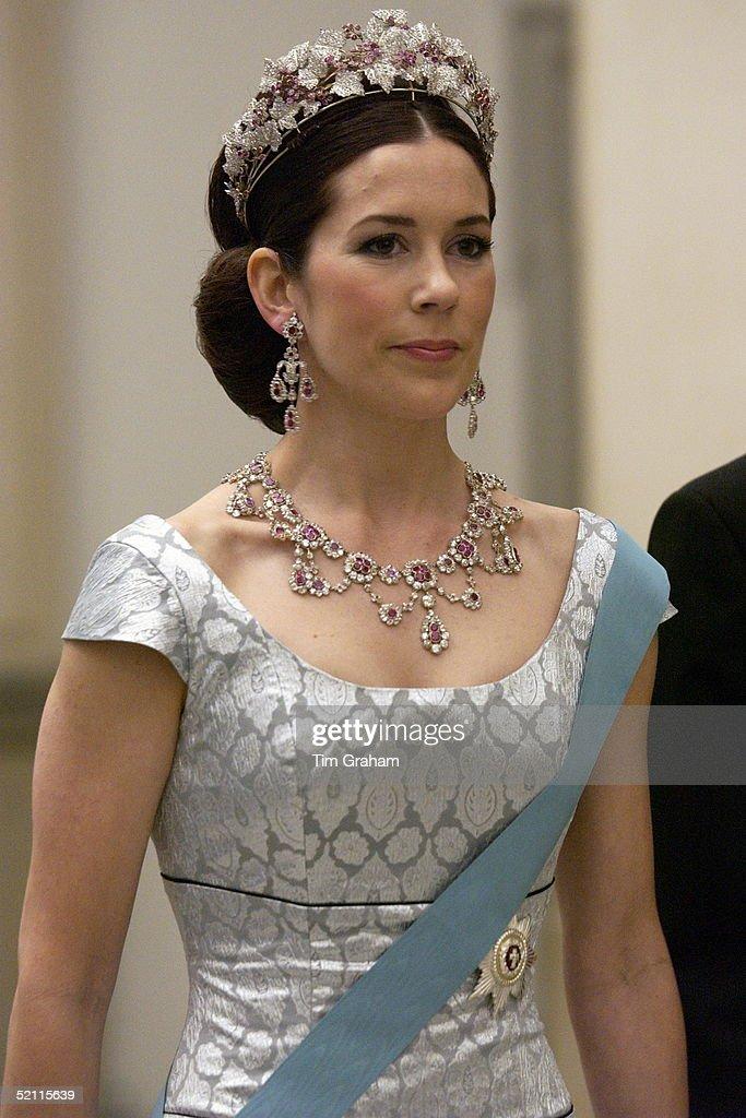 Mary Of Denmark : News Photo