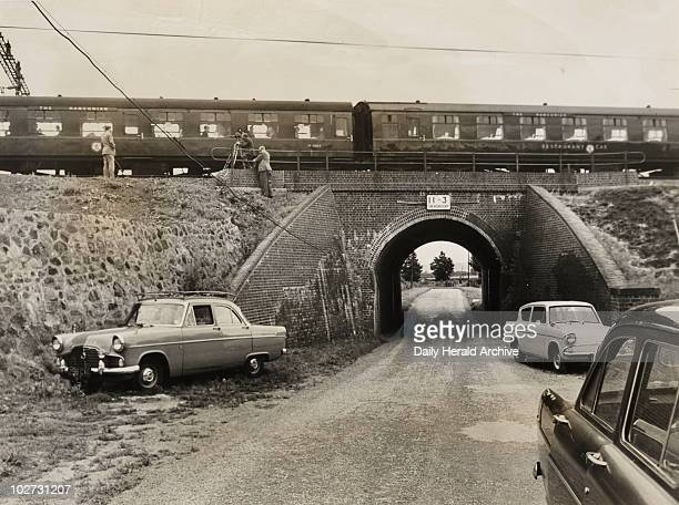Bridego Railway Bridge site of the Great Train Robbery August 1963 A Royal Mail GlasgowtoLondon travelling post office train was stopped at Ledburn...