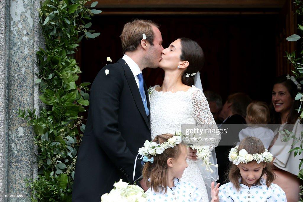 Wedding Of Prince Konstantin Of Bavaria And Deniz Kaya : Nachrichtenfoto