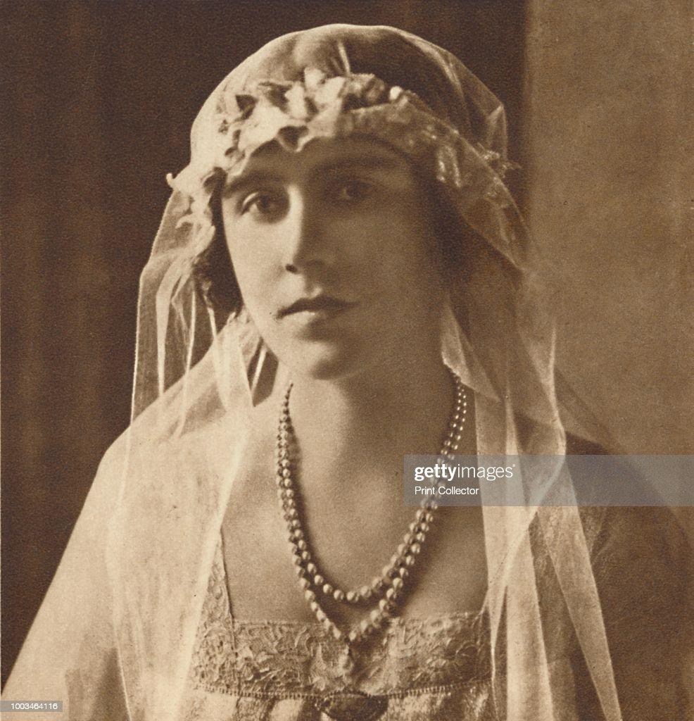 Bridesmaid At Wedding Of Princess Mary And Viscount Lascelles : News Photo
