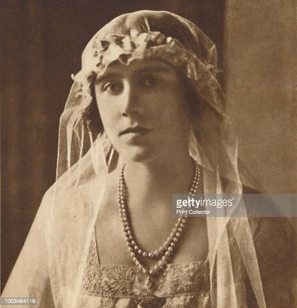 Bridesmaid at wedding of Princess Mary and Viscount Lascelles February 28th 1922' 1937 From Coronation Souvenir Book 1937 edited by Gordon Beckles...