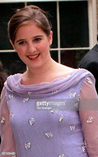 Bridesmaid Princess Theodora Arriving For The Wedding Reception For Princess Alexia Of Greece And Carlos Morales Quintana At Kenwood House, London.