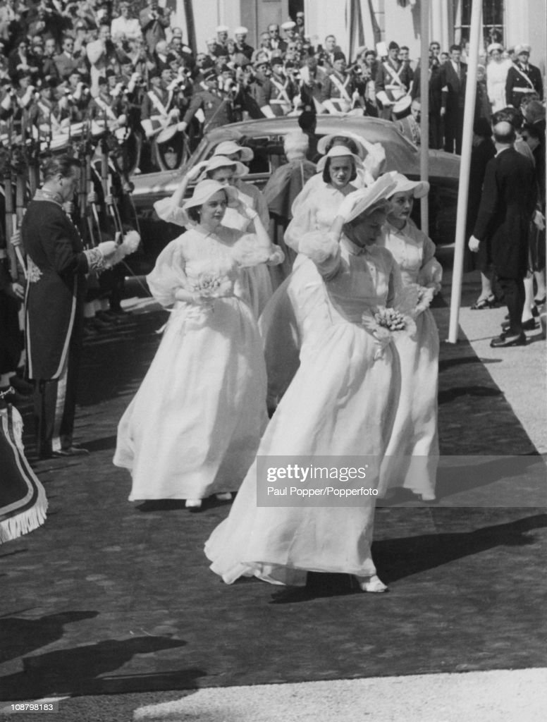 Monaco Bridesmaids : News Photo