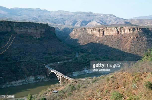 Bridge Across River and Gorge