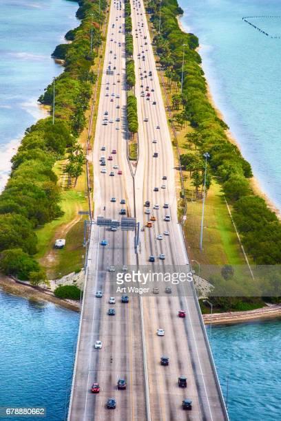 Brücke über die Biscayne Bay in Miami