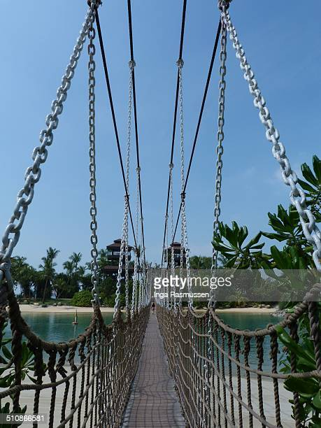 Bridge across to the Southernmost Point of Asia