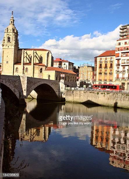 bridge and church of st. anthony - hope imagens e fotografias de stock
