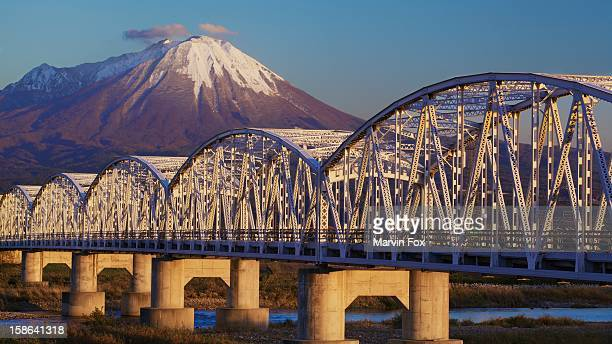 Bridge and Mountain