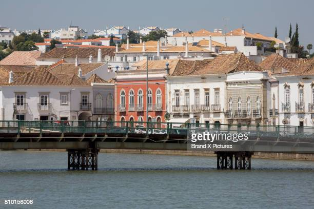 Bridge and river in Tavira, the Algarve