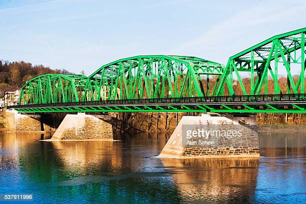 bridge around bethlehem pennsylvania - bethlehem stock pictures, royalty-free photos & images