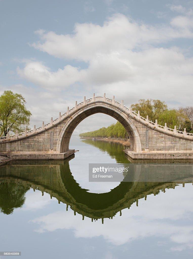 Bridge at Summer Palace, Beijing : Stock Photo