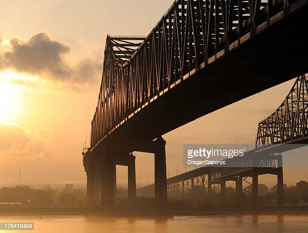 Bridge at sunrise