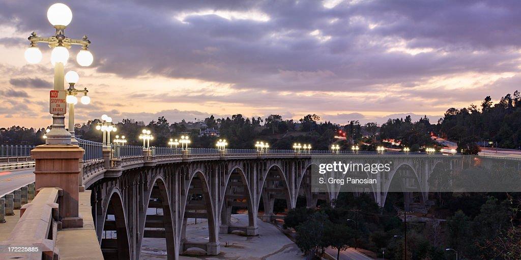 Bridge at Sunset : Stock Photo