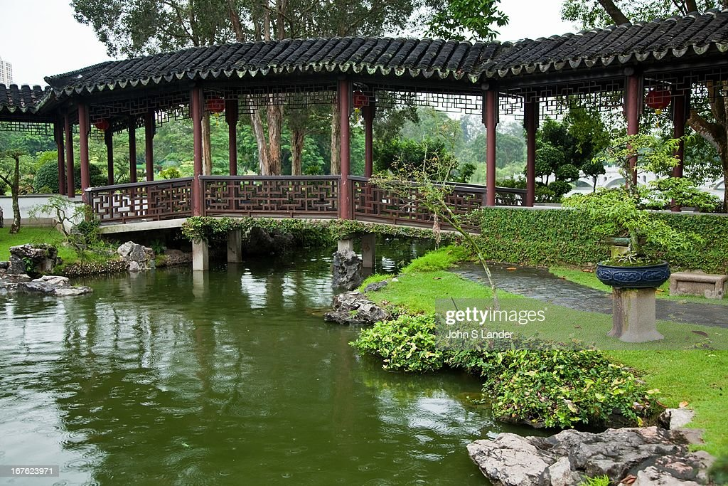 Bridge At The Singapore Chinese Garden, Also Commonly Known As Jurong  Gardens. The Garden