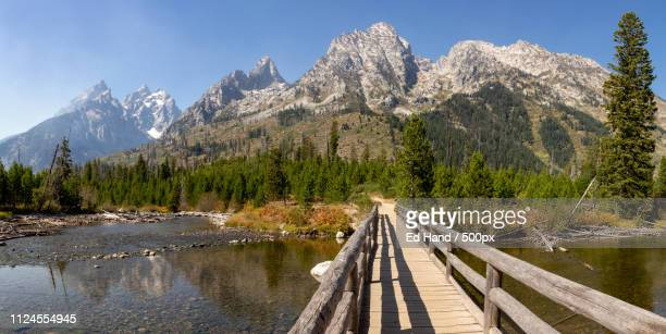 Bridge Between Jenny And String Lakes