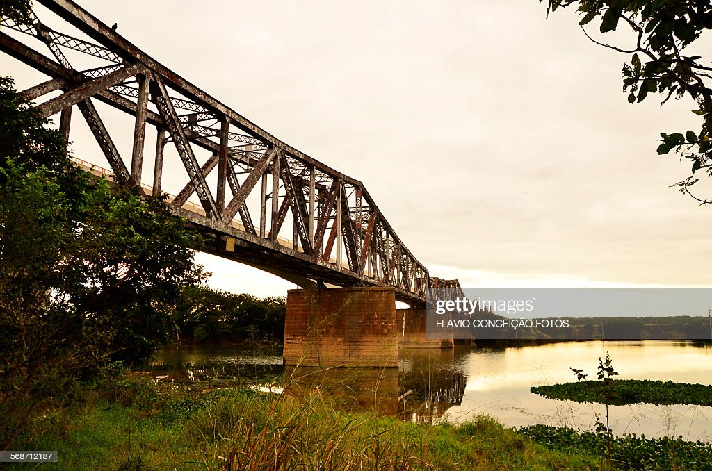 bridge crossing : Stock Photo