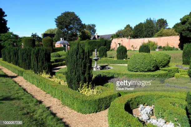 bridge end gardens, saffron walden town, essex, england, uk - saffron walden stock photos and pictures