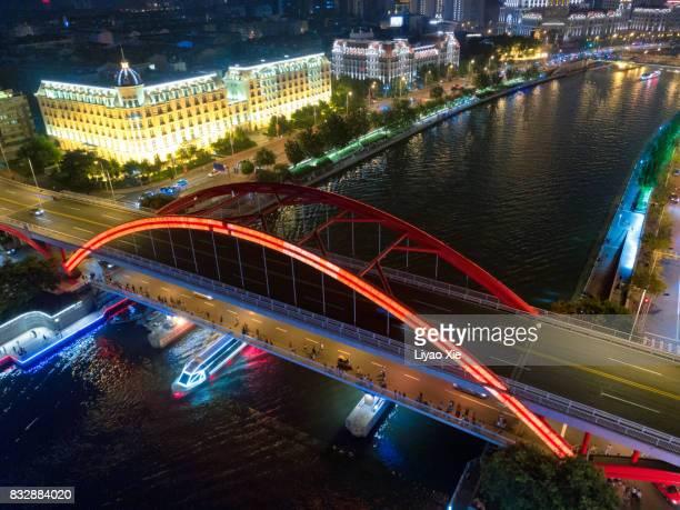 bridge flyover - liyao xie stock-fotos und bilder