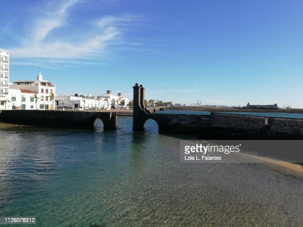 Bridge  heading to San Gregorio castle , Arrecife