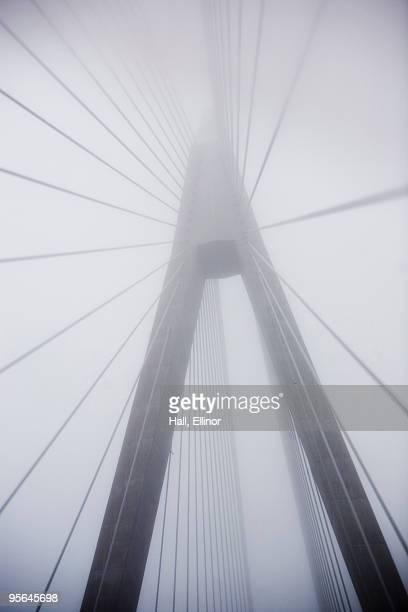 A bridge in a haze, Sweden.