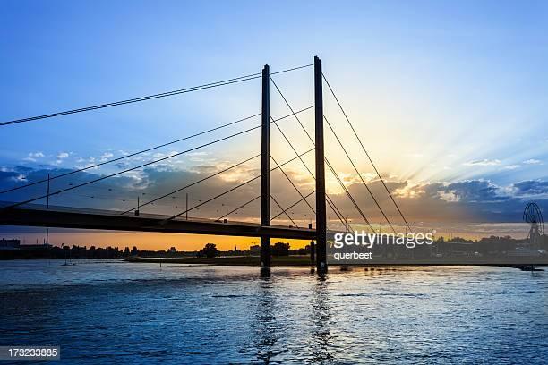 Brücke in Düsseldorf, Deutschland