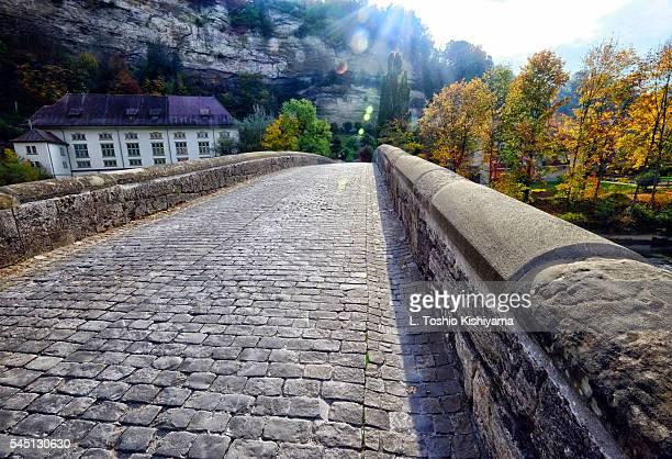 Bridge in Fribourg, Switzerland