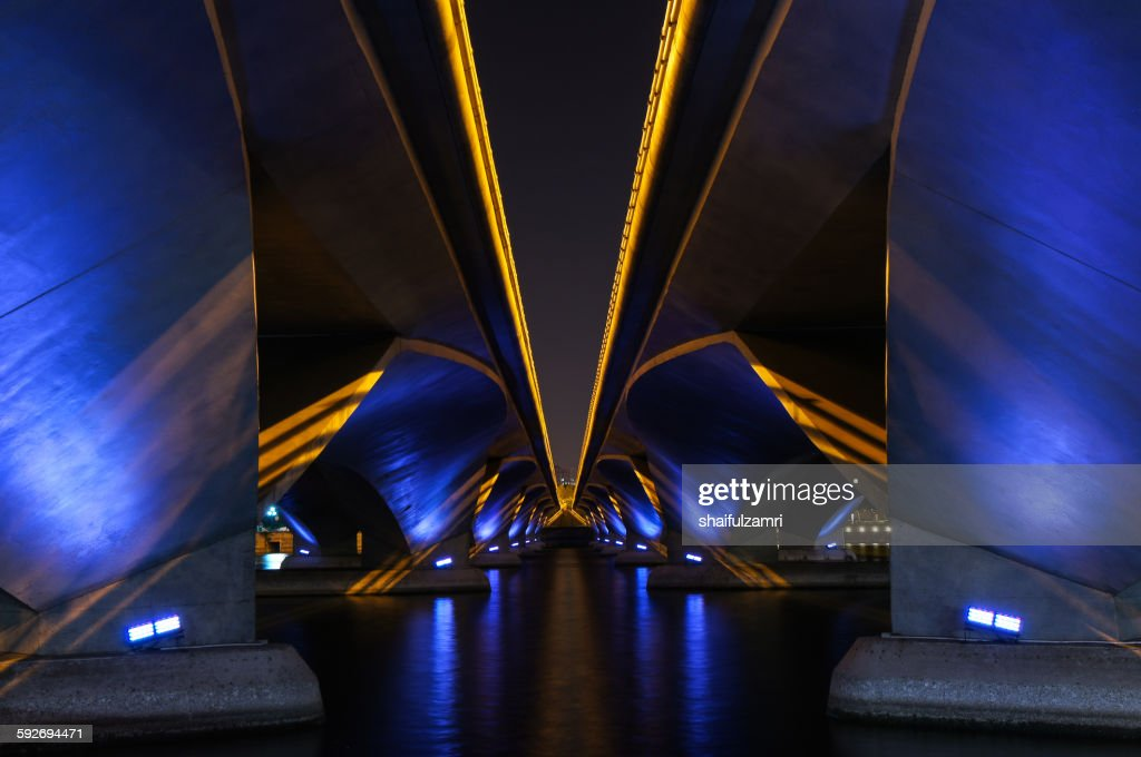 Bridge in Singapore : Stock Photo