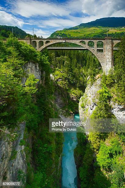 Bridge in Solis Grisons Switzerland