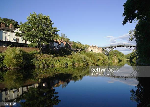 Bridge, Ironbridge, Shropshire, England