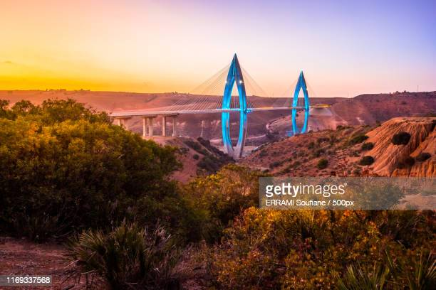 bridge mohamed - rabat morocco stock pictures, royalty-free photos & images