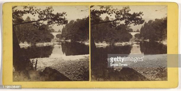 Bridge of Clunie near Pitlochrie James Valentine 1870s Albumen silver print
